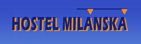 Ubytovna Milánská logo